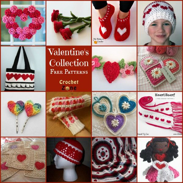 Enjoy thiscollection of free crochet patterns related to Valentine'sDay. I believe we should show our loved ones how much they mean to us every day, but on Valentine's Day it is nice to give them...