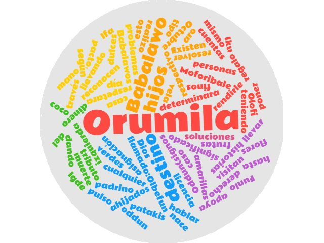 El día de Orumila es el 4 de Octubre, en el cual todos los ahijados visitan la casa de su padrino (Babalawo) para rendirle Moforibale al mismo (tributo) llevando un coco, una vela y el respectivo derecho (asignación del dinero) o cualquier otro tipo de regalo como: flores, frutas, dulces finos. Los hijos de Orumila se reconocen por llevar un Igde (aro o pulso de cuentas amarillas y verdes)