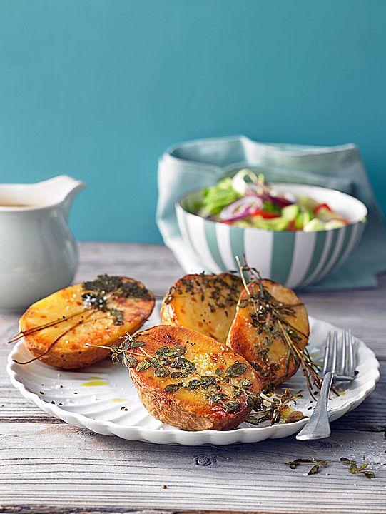 Ofenkartoffeln mit frischen Kräutern (Rezept mit Bild) | Chefkoch.de