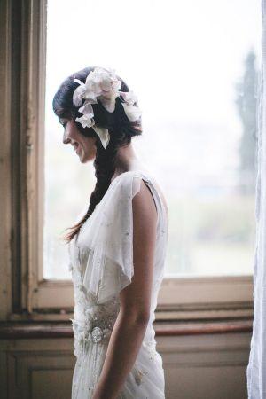 Italian Art Noveau Villa - dress: Jenny Packham | Styled shoot '20 Inspired Liberty style event design+ planning Princess Wedding Ph by Les Amis  www.princesswedding.it