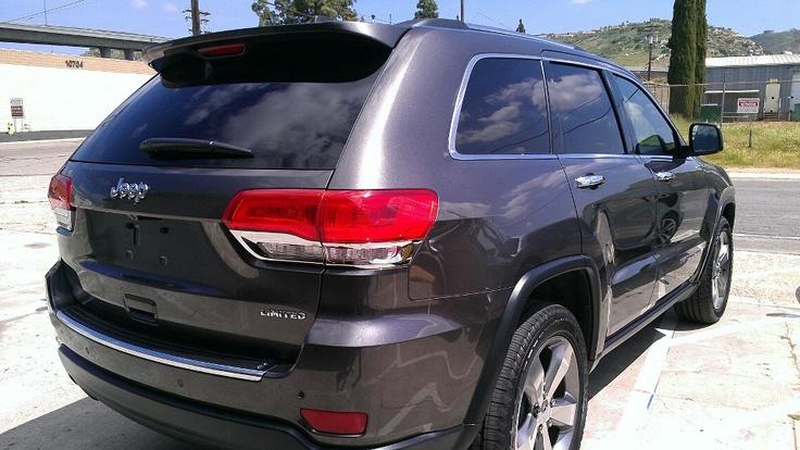 2014 jeep grand cherokee auto window tinting call 619749