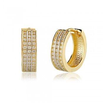Özel Tasarım Şık Altın Küpe  : www.altinalalim.com #altin #altinkupe #gift #gold #goldearring