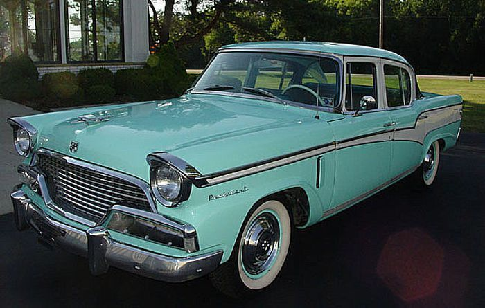 1956 Studebaker President years ago my Daddy had a Studebaker. Loved that old car!