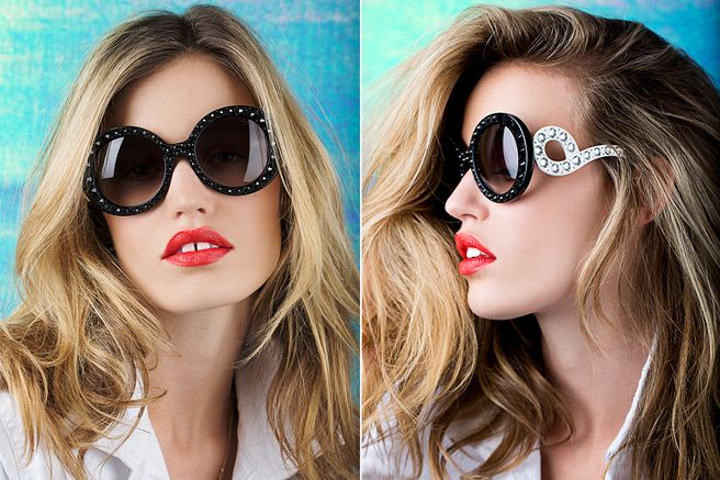 Georgia May Jagger's Summer Sunglasses and Lipstick Picks - Georgie May Jagger Lipstick Tips - Elle