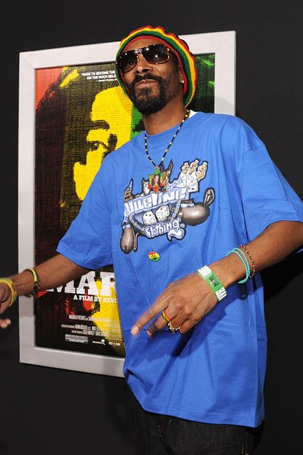 Snoop Dogg    Snoop Dogg has been a longtime advocate of the legalization of marijuana. In October 2010, Snoop released a video supporting Prop. 19, which attempted to legalize marijuana in California.