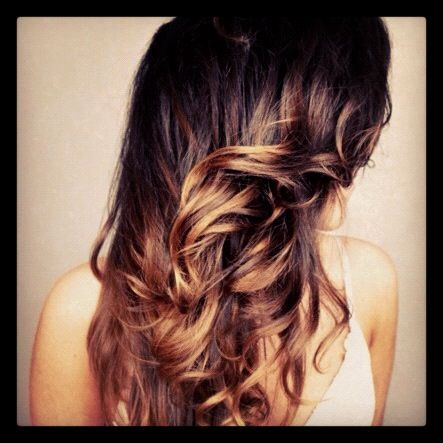 ombre i want to do this to my hair: Hair Ideas, Hair Colors, Hairstyles, Hair Styles, Haircolor, Ombre Hair, Ombrehair, Hair Makeup, Beauty