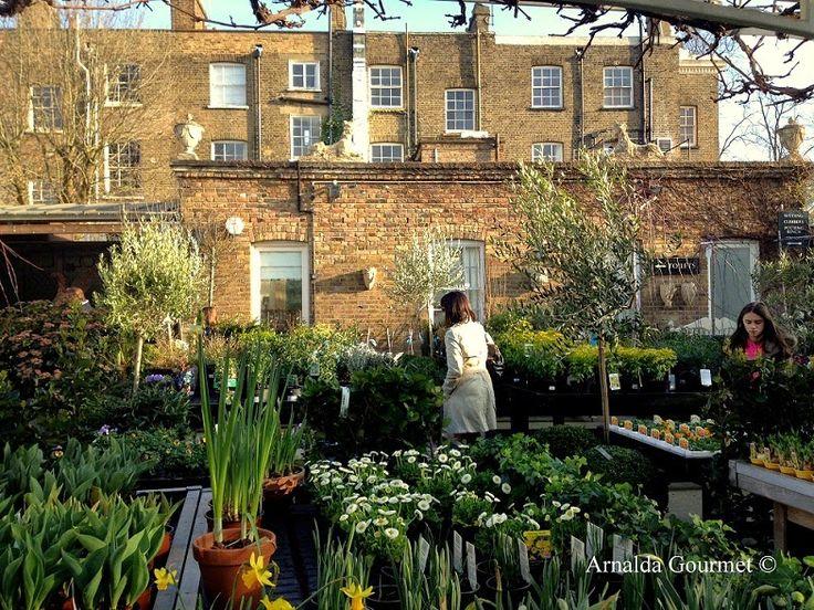 Arnalda Gourmet: London tips: bere il tè in un vivaio di Little Ven...