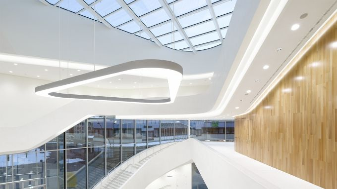 Zumtobel illuminates Montforthaus with a unique new LED lighting solution | lighting.eu