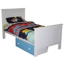 George Single or King Single Bed in White