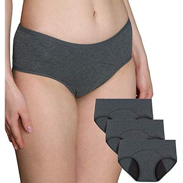 INNERSY Frauen Menstruationszyklus Höschen mit niedriger Tailler Postpartum Ein…