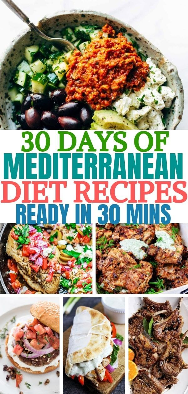 30+ Cheap & Easy Mediterranean Diet Recipes