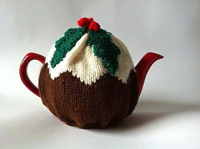 63 best all things tea cosies christmas pudding images on christmas pudding hand knit tea cosycozy with by knitadeedoodah 1650 dt1010fo