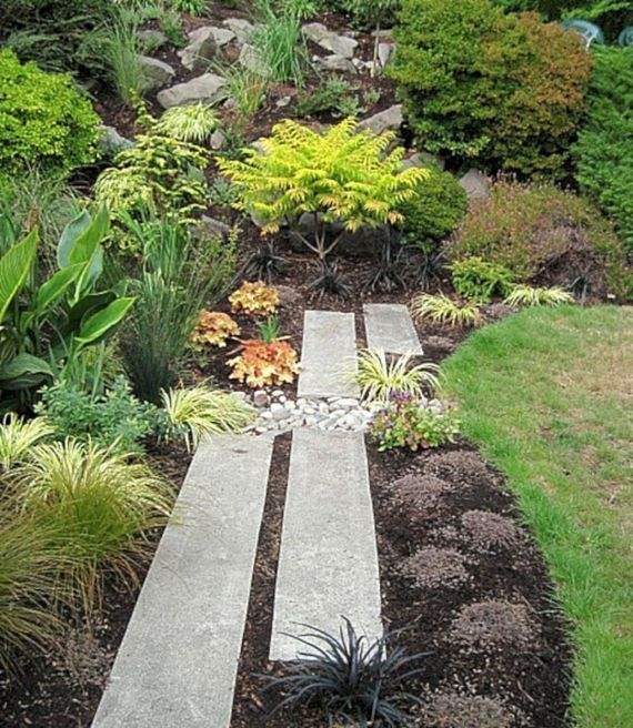 7 Wundervoller Hinterhof Felsenpfad Um Ihren Schonen Garten Zu Verschonern Garten Design Gartengestaltung Landschaftsbau