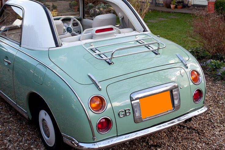 The Classic Style Luggage Carrier for the Nissan Figaro
