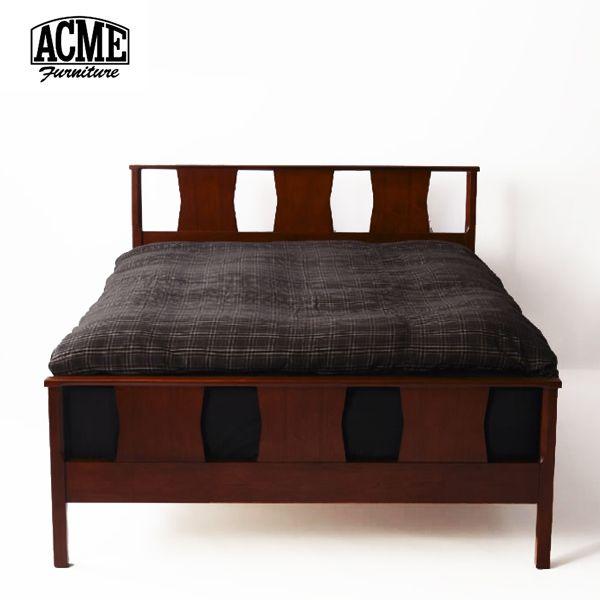 1960年代のヴィンテージを元に作られたACME Furniture「BROOKS(ブルックス)」シリーズのベッドです。          バランス・シルエットの美しさはヴィンテージしのままに、布団をずれにくくするためフットフレームを高くするなど、実用性をアップデート。          ※こちらの商品はベッドフレームのみの販売(写真のマットレスとカバーは別売)となります。予めご了承下さい。                       サイズ       [シングル]幅1050 長さ2050 高940mm (床面高さ300mm) [セミダブル]幅1230 長さ2050 高940mm (床面高さ300mm)         [ダブル]幅1430 長さ2050 高940mm (床面高さ300mm)       [クィーン]幅1630 長さ2050 高940mm (床面高さ300mm)                 素材       ウォールナット材                 ブランド       ACME FURNITURE (アクメ ファニチャー)         ...