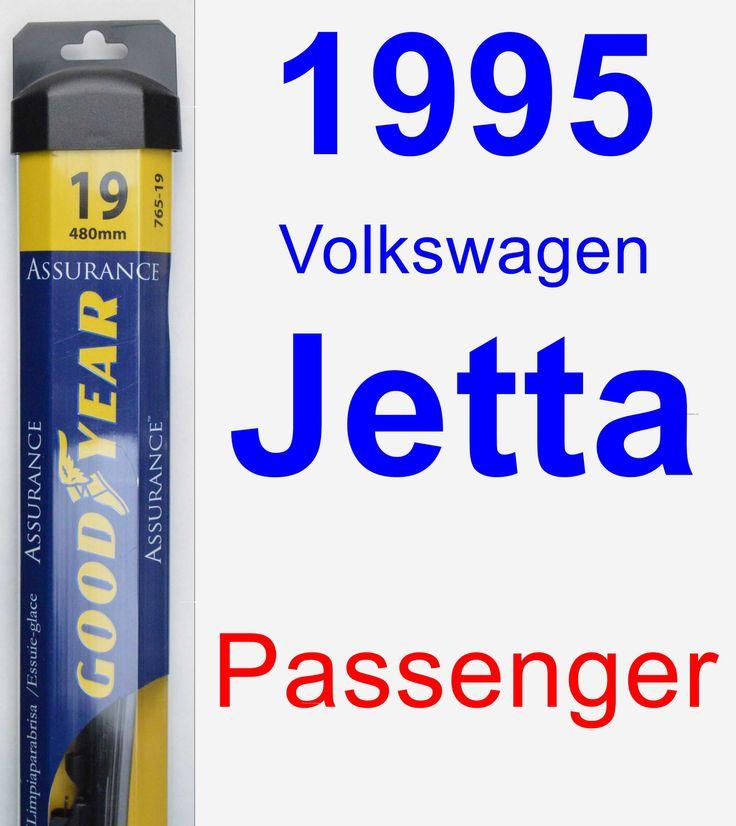 Passenger Wiper Blade for 1995 Volkswagen Jetta - Assurance