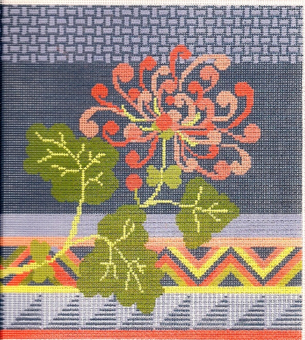 Needle Deeva needlepoint from The Bristly Thistle.