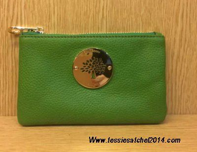 Latest Christmas gift-Mulberry daria pouch 2014 green