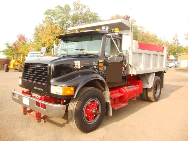 Single Axle Dump Truck W 10ft Plow Trucks Dumper Truck Dump Trucks