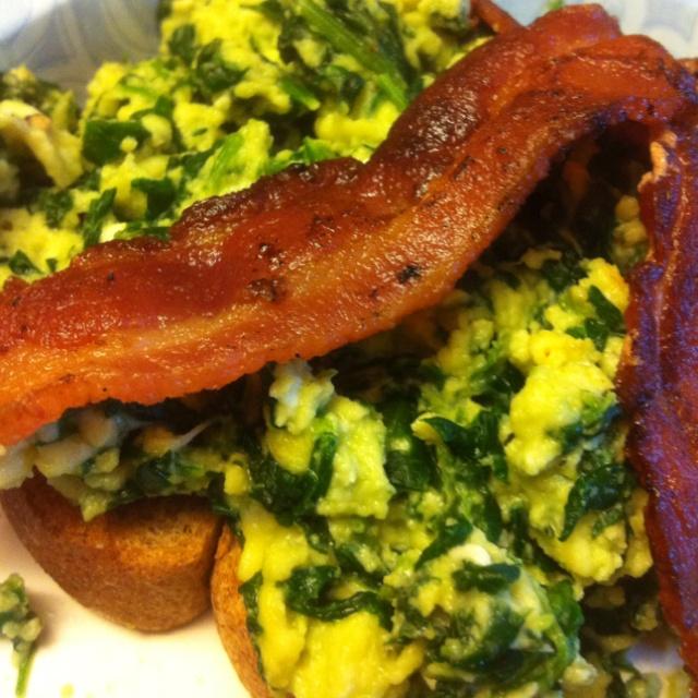 open faced egg and bacon sandwiches recipe open face bacon and egg ...