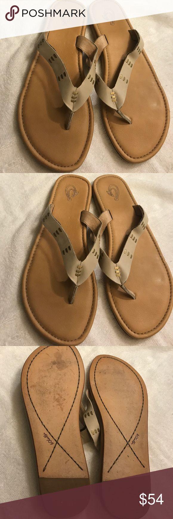Olukai sandals size 39 Excellent condition. OluKai Shoes Sandals