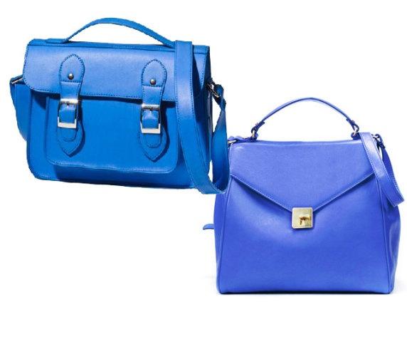 Lovely Blue Bags!:)