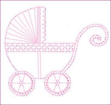 Bébé nouvelle arrivée transport Buggy papier motif de par Darse