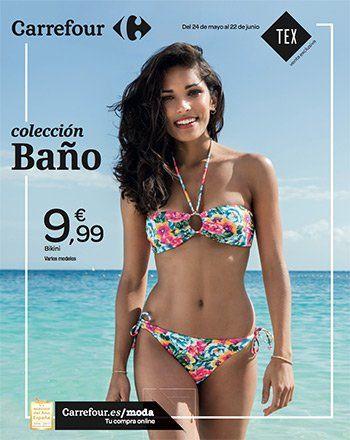 Colección de baño en Carrefour del 24 mayo al 22 de Junio -  Colección de baño en Carrefour del 24 de mayo al 22 de junio. Bikinis y bañadores de la marca exclusiva de Carrefour Tex, bikinis multicolores. Fluidos  Ver Revista Carrefour    BIKINIS MÁS VENDIDOS verano 2017                                                  TOP VENTAS  1         ... #CatálogosCarrefour, #Catálogosonline  #TEX Ver en la web : https://ofertassupermercados.es/coleccion-de-bano
