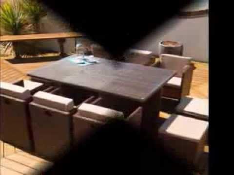 Rattan Effect Garden Furniture - Modern Rattan Effect Garden Furniture Ideas - YouTube
