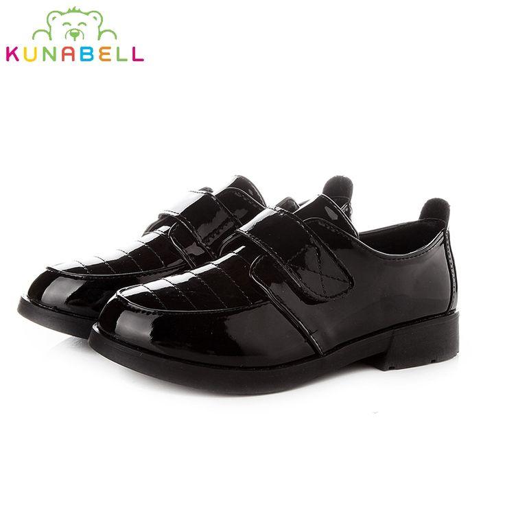 Garçons Enfants Cheville Chaussures d'école Bottes Nubuck Noir Tan Décontracté Formelle - - Black (06) hh4CxQcFWf,