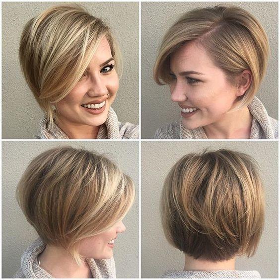 Ben jij dol op blonde korte kapsels? Check dan deze zeer vrouwelijke blonde korte kapsels eens! - Kapsels voor haar