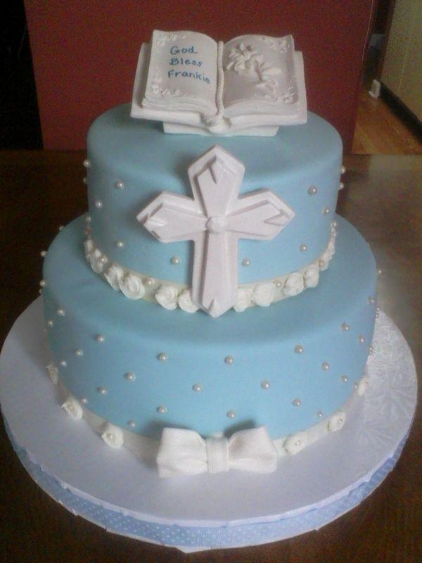 Communion Cake Images : Best 25+ Boy baptism cakes ideas on Pinterest Boy ...