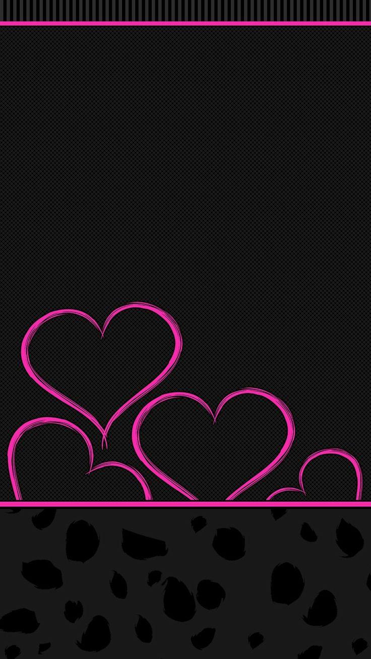 Wonderful Wallpaper Hello Kitty Dark Pink - 4b4e19ecbfffd5f35b4a0f57d5088f74--heart-wallpaper-black-wallpaper  Pic_246371.jpg