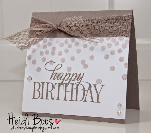 270 best images about SU Birthday Cards – Birthday Card Sets
