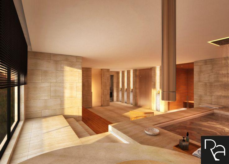 Private Spa_Interior Design_Rendering_View 3