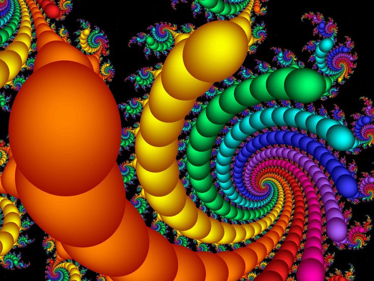 Fractal Art by Vicky, Color 9 Wallpaper