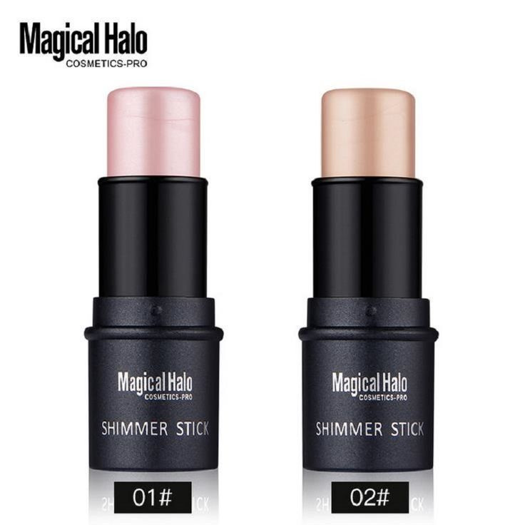 Magical Halo 2 Color Face Contouring Makeup Shimmer Stick Highlighter Stick Pen Brighten Skin 3D Face Bronzer Highlighter Powder * This is an AliExpress affiliate pin.  View the item in details on AliExpress website by clicking the VISIT button