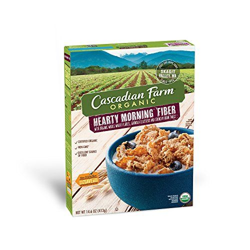 Cascadian Farm Cereal Organic Cereal, Hearty Morning Fiber, 14.6 Ounce >>> Find out more about the great product at the image link.