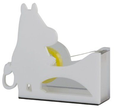 Moomin silhouette tape cutter
