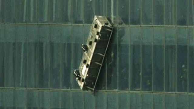 2 workers rescued from high up World Trade Center - CNN.com