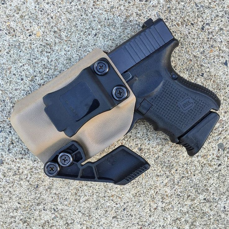 Jackal IWB Holster with Concealment Wing