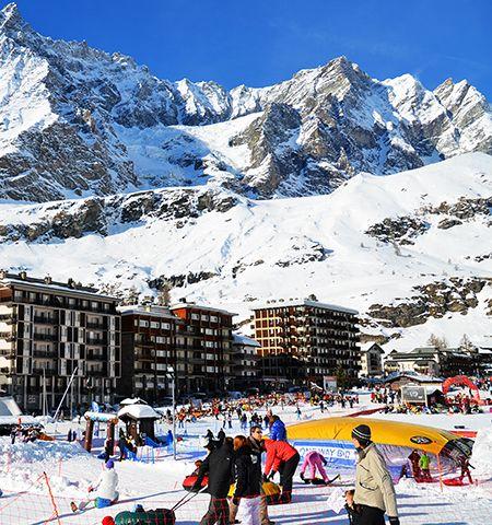 Skidresor till Cervinia i Italienska Alperna - Langley