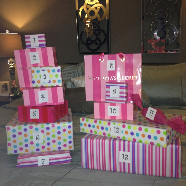 13 Presents For 13th Birthday :)))