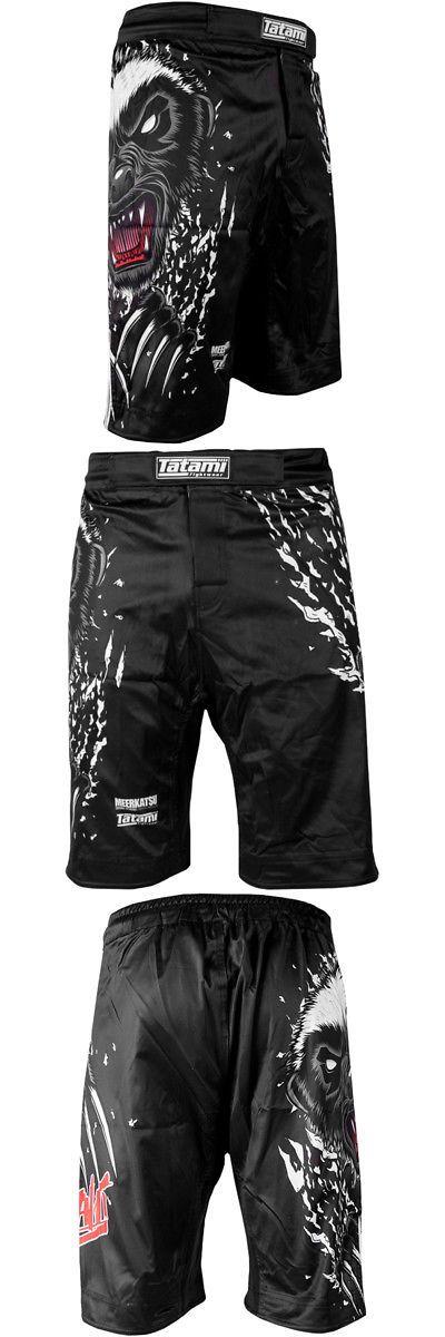 Shorts 73982: Tatami Fightwear X Meerkatsu Honey Badger V4 Mma Fight Shorts - Black White -> BUY IT NOW ONLY: $53.19 on eBay!
