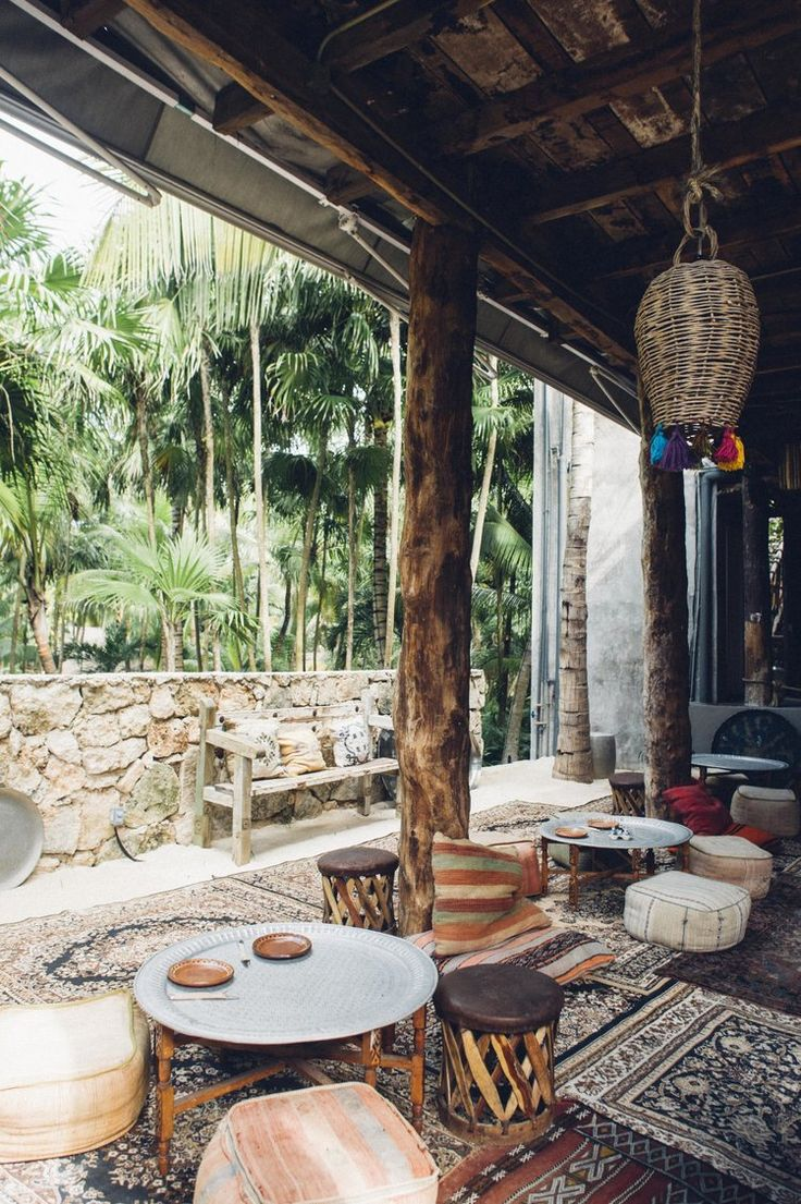 Macondo at the Nomade Tulum Travel Guide - Cool Beach Huts & Design Hotels - Design Inspiration Bohemian, World-Influenced, Moroccan Beach Style