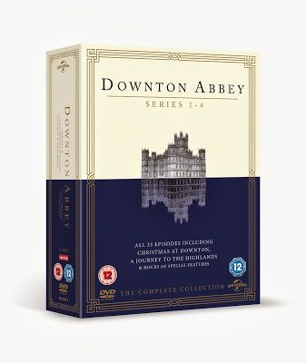 Brand New Downton Abbey Series 1 - 4 DVD Released in UK!