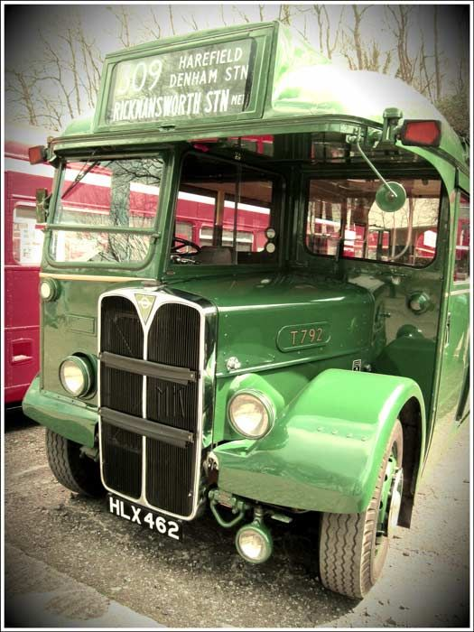 AEC Regal HLX 462 bus