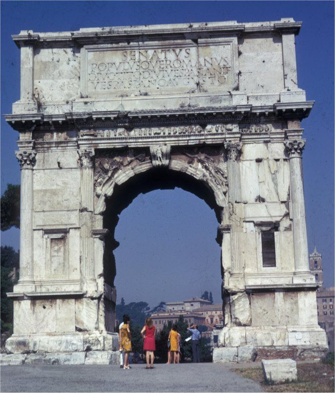 Arch Of Titus - Rome, Italy