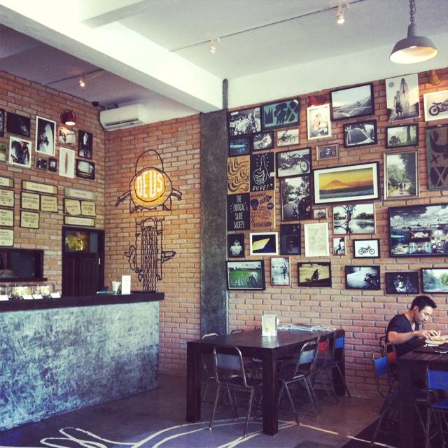 Deus ex Machina, cafe and store at Oberoi, Bali, Indonesia. https://www.youtube.com/watch?v=e4xiFvzbKCQ