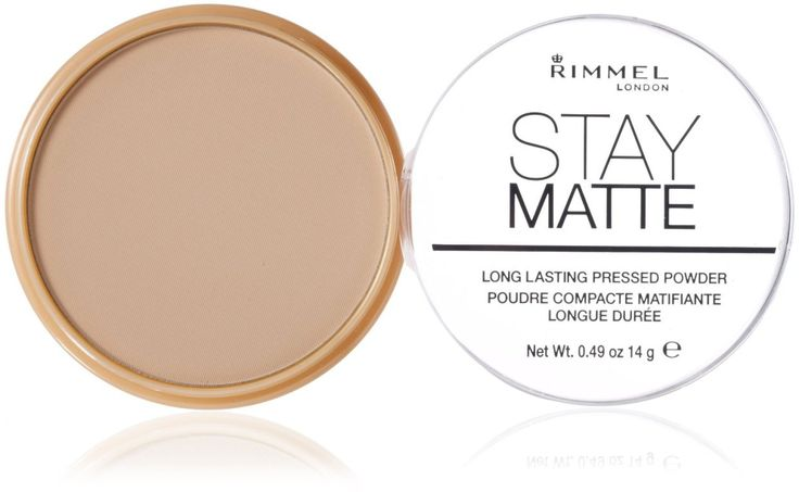 Rimmel Stay Matte Pressed Powder ($3.99, drugstore.com) The undisputed champion of the drugstore powder game, Rimmel's lightly tinted setting powder is a life-changer. Lightweight and sheer, but still long-lasting and never cakey, it'll keep your complexion looking amazing and natural all day. Read more: http://dailymakeover.com/best-finishing-powder/#ixzz48PNwglZy
